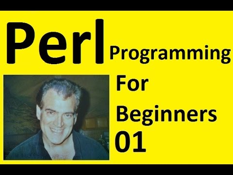 Perl Programming for Beginners Tutorial Install on Windows 10