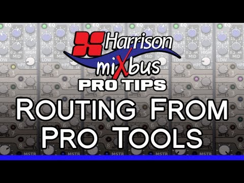 Pro Tips – Routing From Pro Tools Into Mixbus