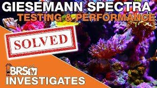 BRStv Investigates: Testing the Giesemann Spectra Hybrid light fixture for SPS corals