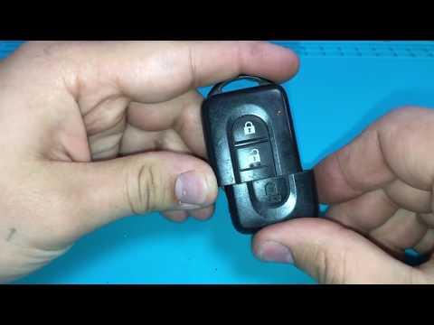 Замена батарейки в ключе ниссан / Replacing battery in the Nissan key