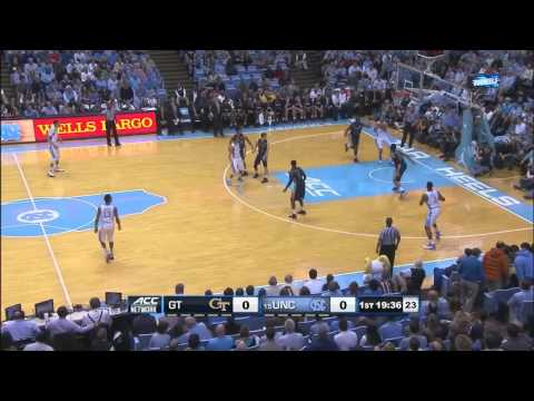 Video: UNC's Four Corner's Offense vs. Georgia Tech