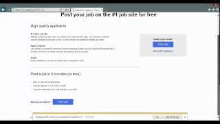 Free Indeed Job Posting