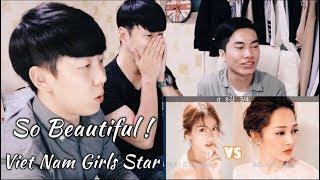 [Con trai Hàn Quốc Reaction] Chết mất thôi... Con gái Việt Nam xinh thế này đây