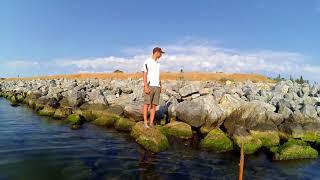 Рыбалка на мидию черное море
