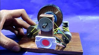 How to make Free energy device using dc motor tested on