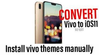 ios 11 theme for vivo y81 - Video vui nhộn, Clip hài hước