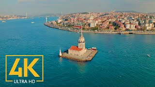 4K Istanbul, Turkey - Urban Documentary Film - Cities Of The World - 10 Bit Color