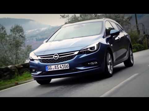 Opel Astra K Astra К Хетчбек класса C - рекламное видео 2