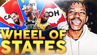 WHEEL OF HOME STATE REBUILDING CHALLENGE IN NBA 2K19