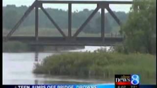 Fun turns tragic as teen jumps in river