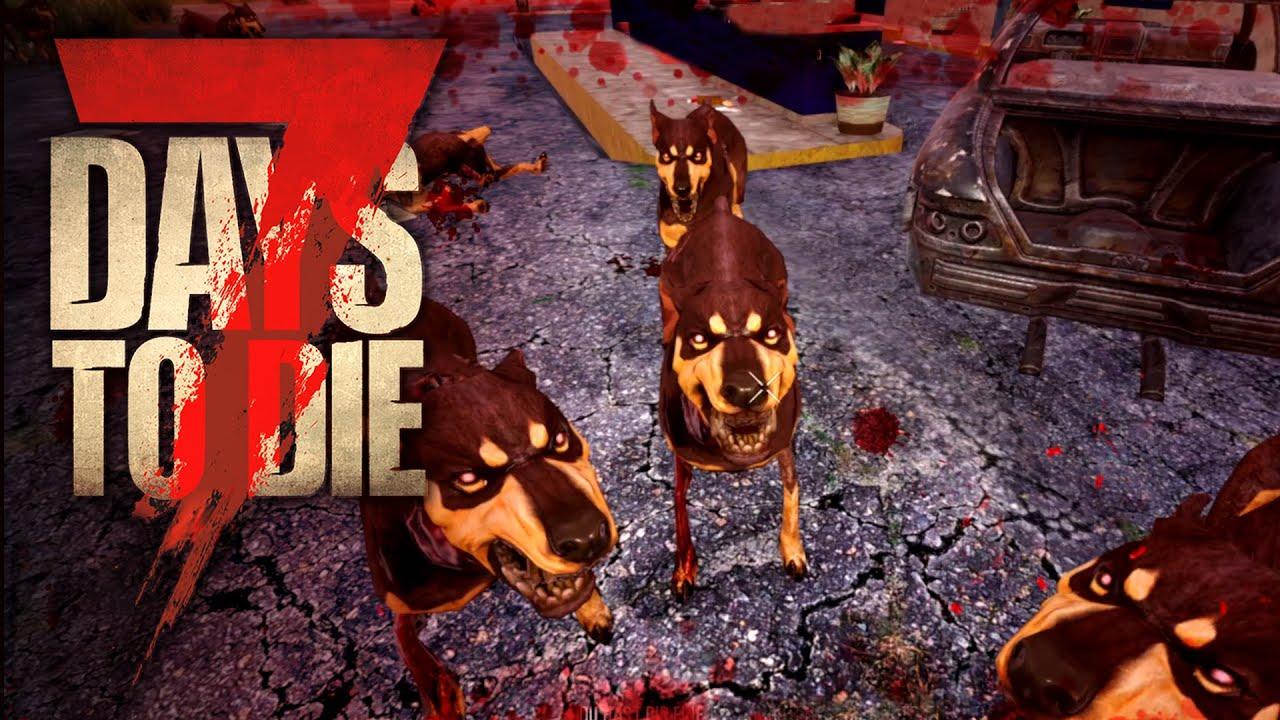 7 Days to Die 21 | Vorsicht bissiger Hund | Alpha 19 Gameplay Deutsch Tutorial Beginner thumbnail