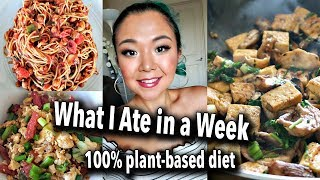 WHAT I ATE IN A WEEK (7 DAYS OF VEGAN FOOD) // easy vegan recipes