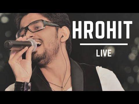 Gulaabi aankhen live | Band Aashiyaan | Infosys Bangalore | Corporate Show | Hrohit Saboo