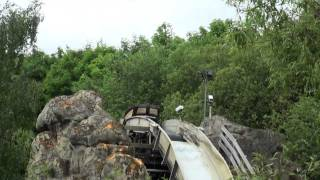 preview picture of video 'Dragon Falls - Chessington - TPR UK Trip 2010 - Offride'