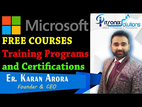 Microsoft FREE Certification Courses - Free Microsoft Online ...