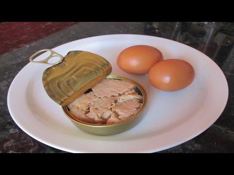 عندك تونة و بيض ؟؟ حضري اسهل وألذ وجبة في دقائق - هنا hana