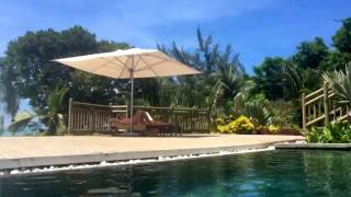 preview picture of video 'Mauritius Day 4 - By the poolside at Zilwa Attitude Hotel in Kalodyne'