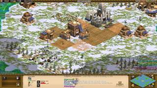 AoE2HD - Craziest Game I've Ever Played! (Capture The Relic)