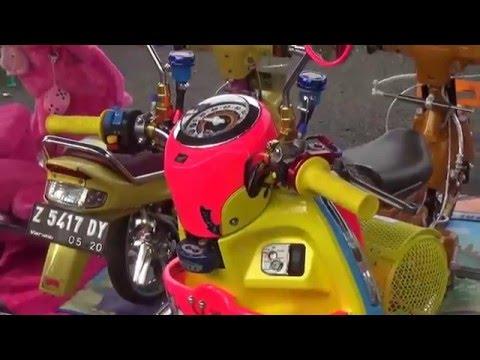 Video Modifikasi Honda Scoopy BOP keren bangeet