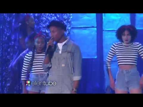 Pharrell Williams - Live Performs Freedom