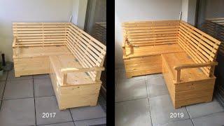 So arbeitet Holz - diese 4 Fehler sollte man vermeiden | Balkonmöbel nach 2 Jahren