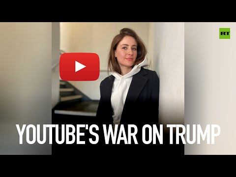 YouTube's war on Trump | #PollyBites