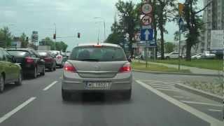 preview picture of video 'Z Auchan Piaseczno do Piaseczno Al.Kalin trasa przejazdu'