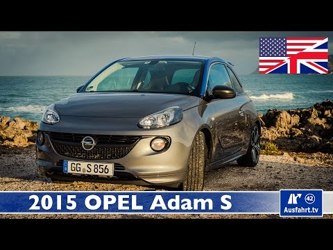 2015 Opel Vauxhall Adam S - Test, Test-Drive and In-Depth Car Review (English)
