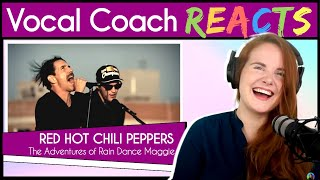 Vocal Coach Reacts To Red Hot Chili Peppers - The Adventures Of Rain Dance Maggie