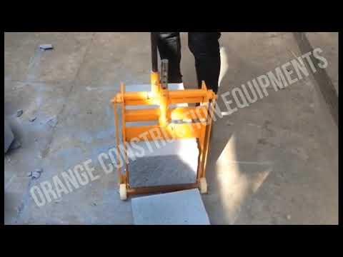 ORANGE Brick Cutting Machine
