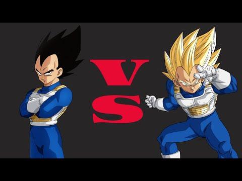 Hyper Dragon Ball Z - Vegeta VS SSJ Vegeta