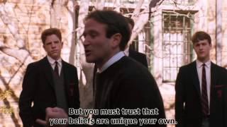 Dead Poets Society - Conformity Scene (1989) HD w/ Subtitles