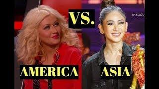 ASIA vs. AMERICA - Battle of the BEST SINGERS l G5 - A7