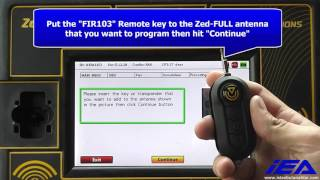 Dodge Ram Promaster City pin code reading, key precoding and remote key programming with Zed-FULL