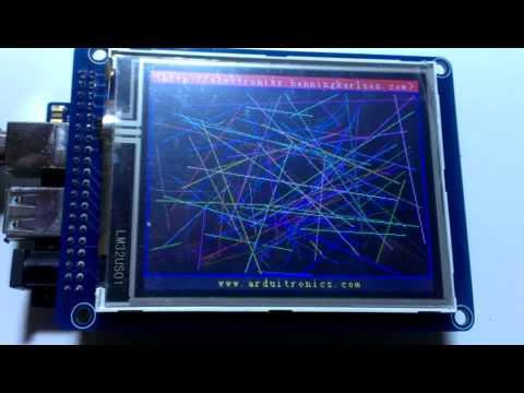 TFT LCD Demonstration UTFT_Demo_320x240