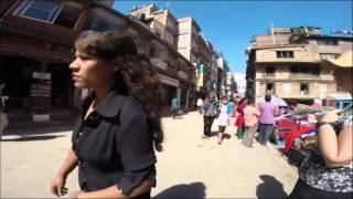 2014-10-17 A long walk in Kathmandu