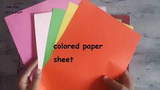 2 easy ways to make scrapbook for school project