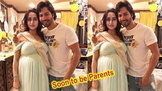 Pregnant Natasha Dalal Flaunting Her Baby Bump With Varun Dhawan