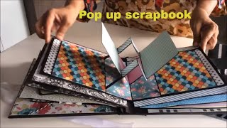 Pop Up Scrapbook Ideas/DIY: Cutest Birthday Scrapbook Ideas| Handmade  Scrapbook For Someone Special