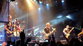 Shameless - All Time Low LIVE in HD from Cleveland 10/15/12
