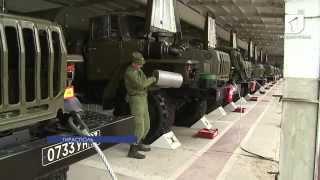 В ОГРВ проводят плановую подготовку вооружения и военной техники