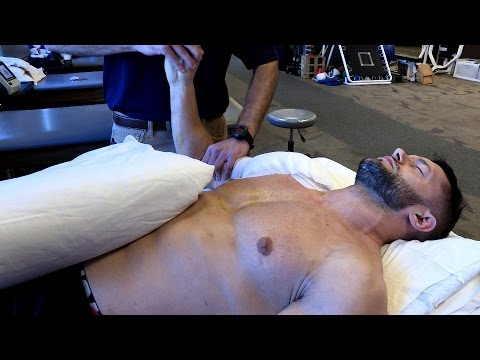 Physiotherapie nach Knie-Arthroskopie Video