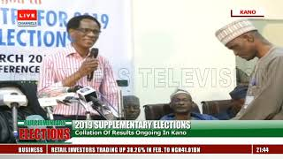 Supplementary Elections: Collation Of Results Ongoing In Kano Pt.1