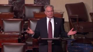 Sen. Tim Kaine Speaks Against Scott Pruitt for EPA Administrator (2/16/17)