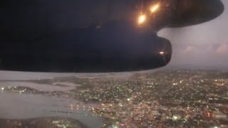 preview picture of video 'Liat Dash 8-300 landing in Antigua'