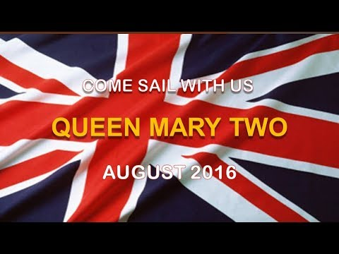 Tour the Queen Mary Two (Atlantic Crossing-East)