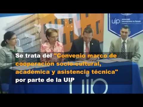 UIP firma convenio interinstitucional para impulsar la robótica