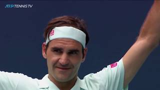 Roger Federer: Best Moments In Indian Wells & Miami 2019