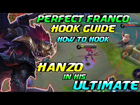 FRANCO HOOK GUIDE FOR HANZO'S ULTIMATE | GamEnTrix | MOBILE LEGENDS (видео)