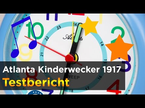 Atlanta Kinderwecker 1917 (blau) im Test